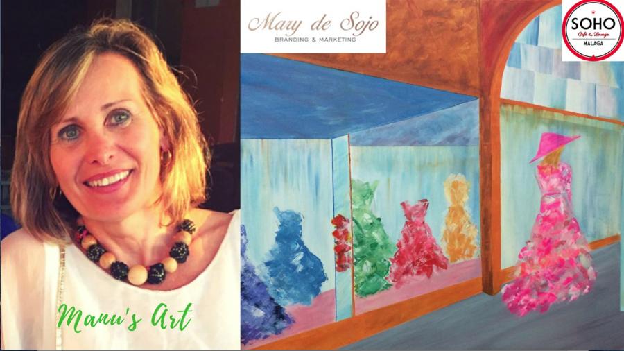 """Evento: Exposición de Arte """" La Magia de los Colores """" by Manu's Art organizada por la Galería de Arte Virtual de MarySojo.com"""