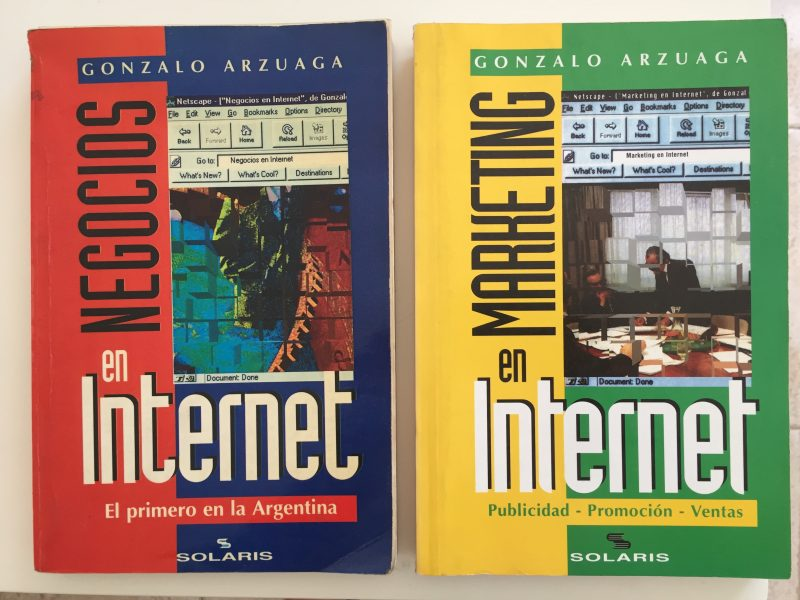 Negocios en Internet y Marketing en internet los dos libros de Gonzalo Arsuaga en Good Talks, la nueva sesión de Mary de Sojo Branding & Marketing