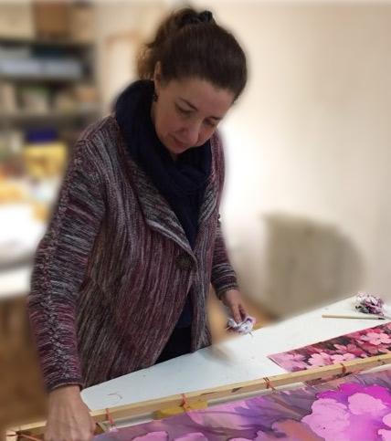 Victoria Pardo Artista Plástica en la Galería de Arte Virtual de Mary de Sojo Agencia de Branding para Artistas