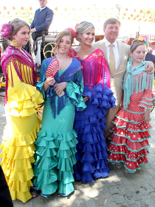 GOOD TALKS Victoria Pardo y Fabiola García -Liñán en Conversaciones que Inspiran -Familia Real de Holanda con trajes de Flamenca de Fabiola García-Liñán